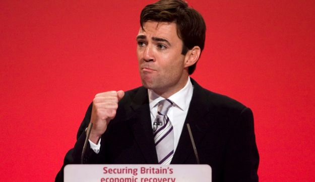 Andy Burnham, U.K. health secretary, at a Labor party conference on Sept. 30, 2009.
