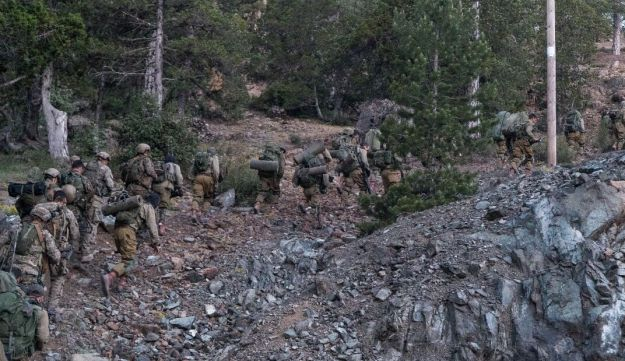 Israeli commandos in the mountains of Cyprus