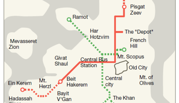 Foreign companies wary of operating Jerusalems light rail because