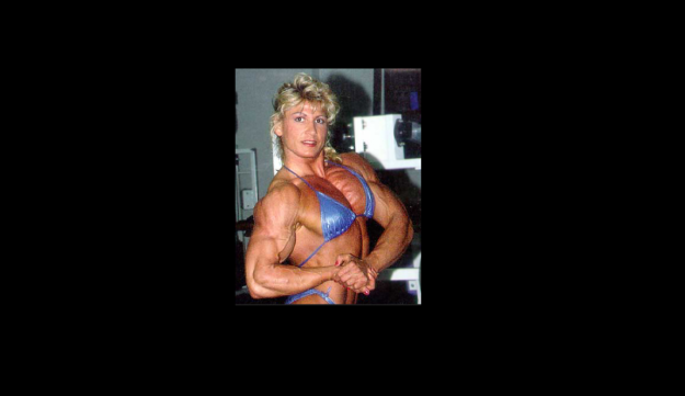 Nikki Fuller, another of Joe Weider's proteges.