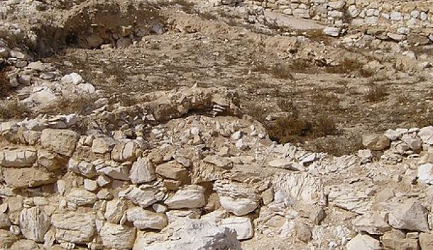 Tell Arad, where ostracons going back some 2,500 years were found - and their analysis indicates that literacy was widespread in the ancient Kingdom of Judah.