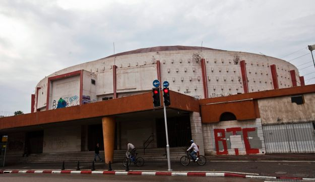 Tel Aviv's Cinerama, pictured in 2011. The iconic theater and conference center went up in 1966.