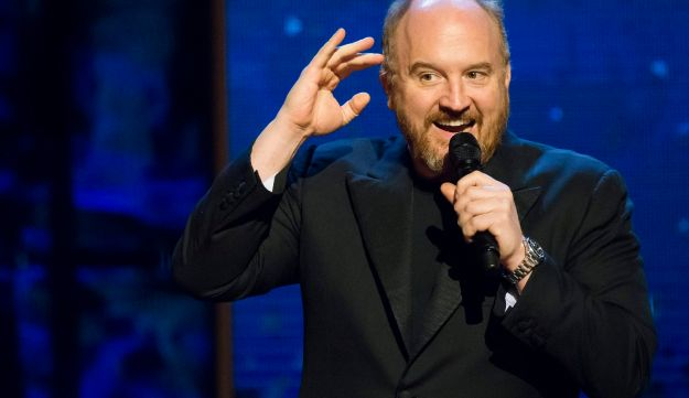 "Louis C.K. appears onstage at Comedy Central's ""Night of Too Many Stars: America Comes Together for Autism Programs"" at the Beacon Theatre on Saturday, Feb. 28, 2015 in New York."