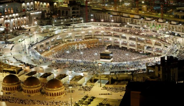 General view of the Kaaba at the Grand Mosque in Mecca, Saudi Arabia, September 9, 2016.