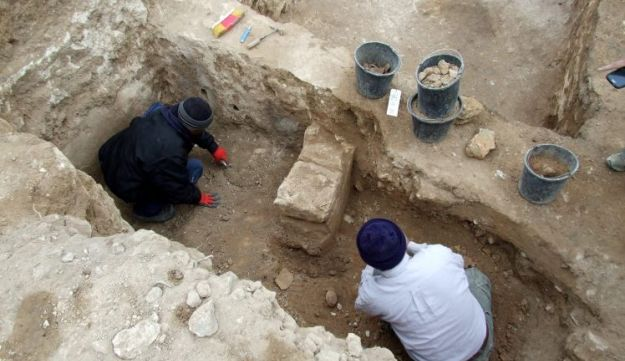 The excavation at Tel Lachish, September 2016.