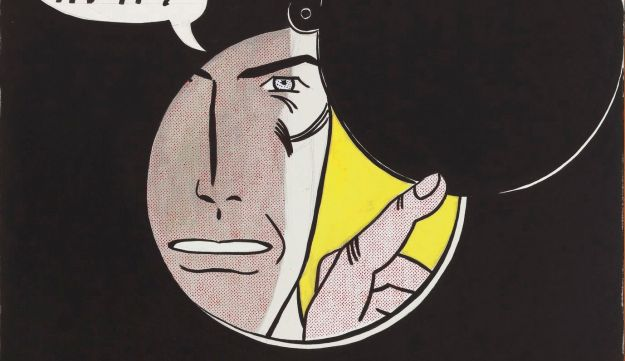 """""""I Can See the Whole Room"""" by Roy Lichtenstein"""