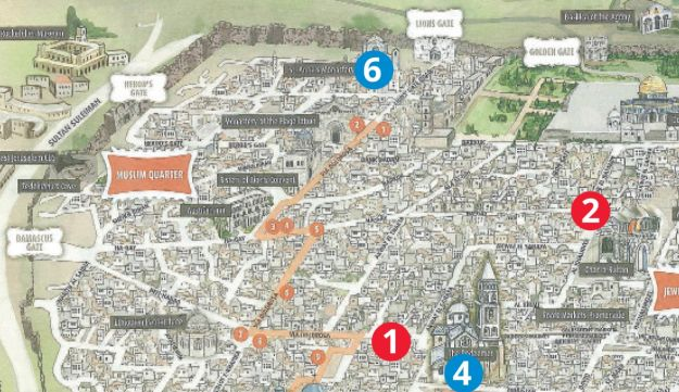 Israel corrects jerusalem tourism map that omitted al aqsa mosque the corrected visitors map of jerusalem the tourism ministry issued after the former was criticized for gumiabroncs Image collections