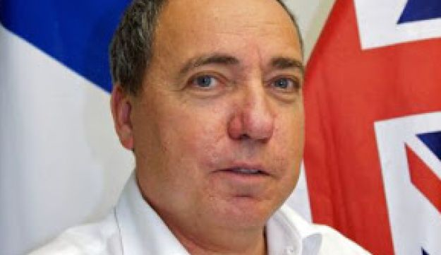 Yuval Rotem, whom Prime Minister Benjamin Netanyahu appointed acting Foreign Ministry director general  following Dore Gold's resignation.