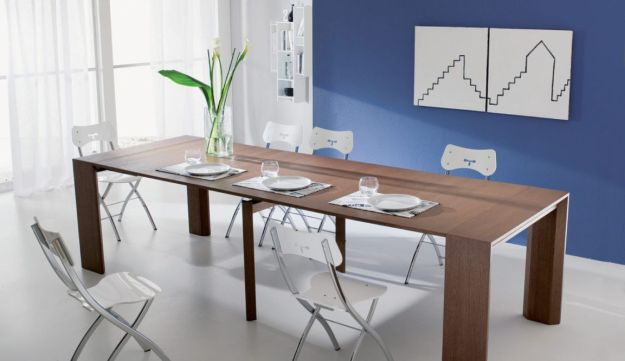 Milano Smart Living's fold-up dining table.