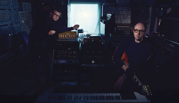 The Chemical Brothers, Tom Rowlands and Ed Simons.