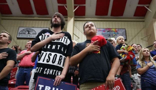 Trump supporters in North Carolina, November 4, 2016.