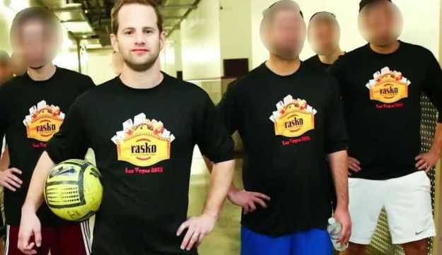 Omer Gur with members of the Rasko team. Taken from the company's promotional video.
