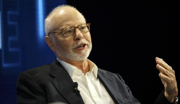 Paul Singer speaks during the WSJDLive Global Technology Conference in Laguna Beach, California, U.S., on Tuesday, Oct. 25, 2016.
