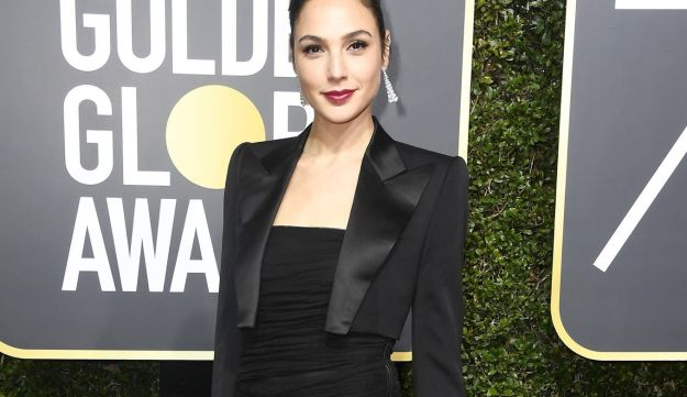 Actor Gal Gadot attends The 75th Annual Golden Globe Awards at The Beverly Hilton Hotel on January 7, 2018 in Beverly Hills, California.