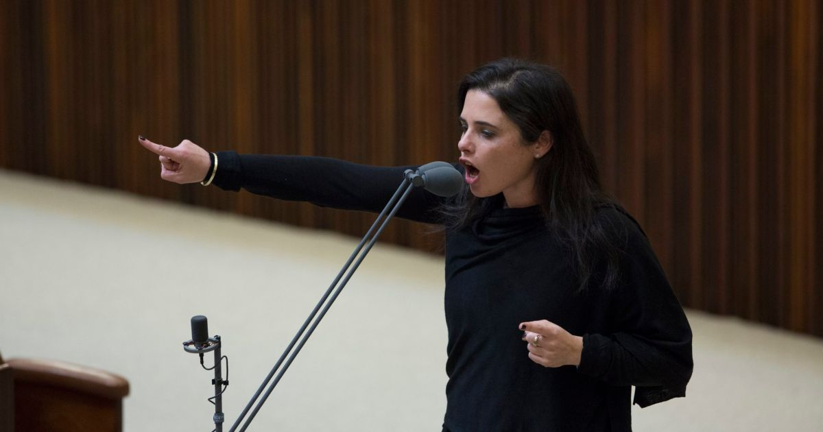 Justice minister: Israel must keep Jewish majority even at expense of human rights