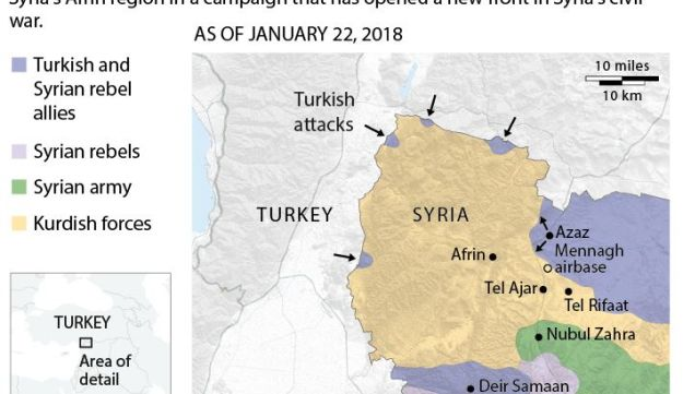 Why is Turkey risking military conflict with the US in Syria