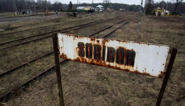 Sobibor train station in Poland. December 1, 2009.