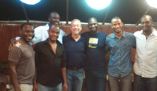 """Israel at Heart founder Joey Low, who has become an advocate for African asylum seekers in Israel. """"I cannot sit by and do nothing,"""" he says."""