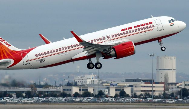 FILE PHOTO: An Air India Airbus A320neo plane.