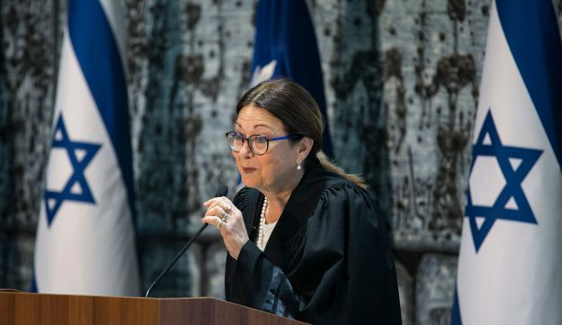 Israel's chief justice Esther Hayut, October, 2017.