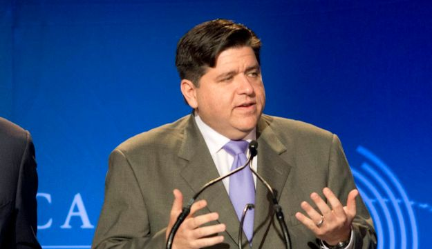 Billionaire J.B. Pritzker speaks during the Clinton Global Initiative CGI America meeting in Chicago, June 13, 2013.