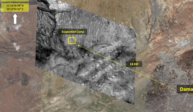 Israeli satellite images reveal: Iran builds military base near Damascus.
