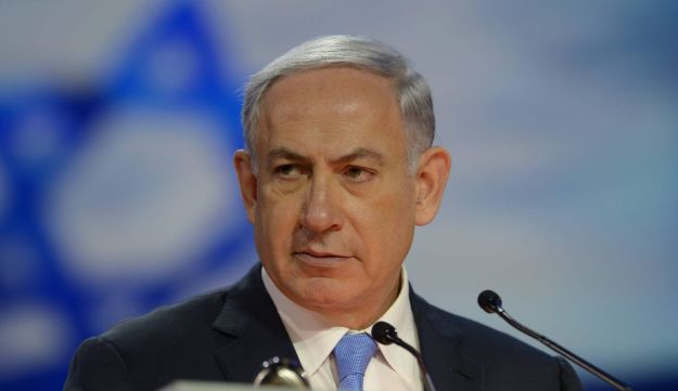 Prime Minister Benjamin Netanyahu speaking at the 2015 AIPAC Policy Conference in Washington D.C.