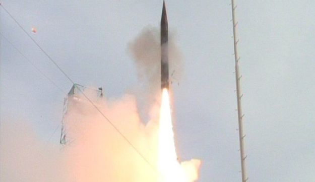 A test of the Arrow-3 missile defense system in 2014.