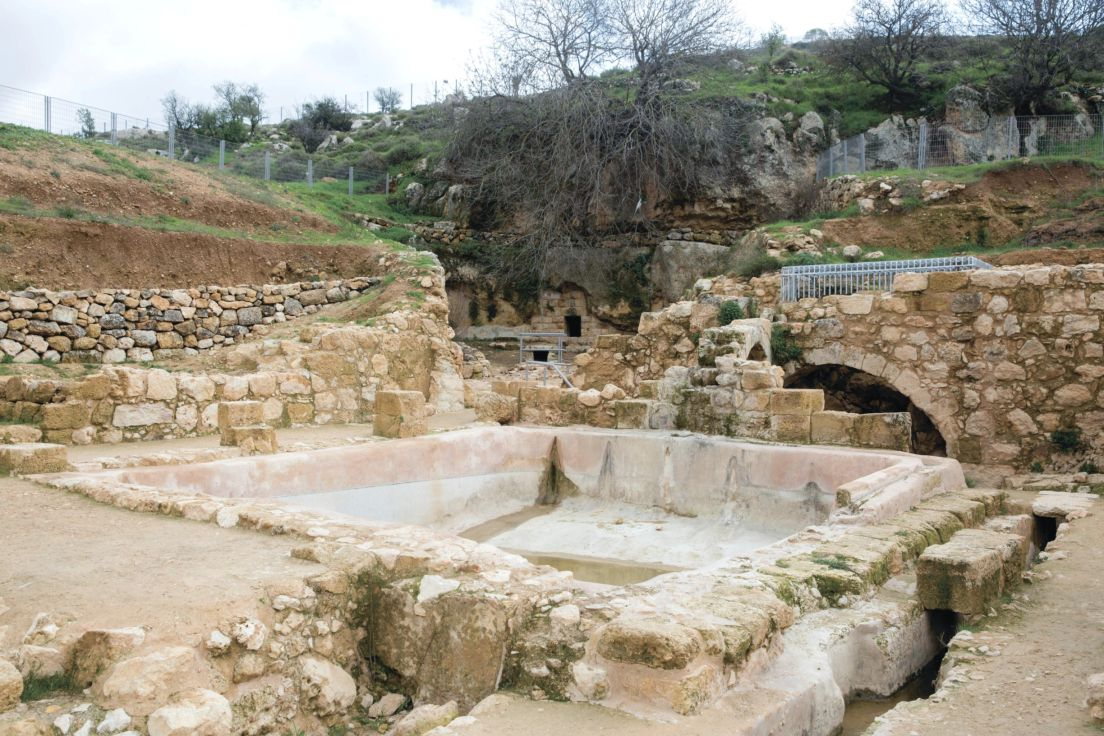 The Ein Hanya Spring A Charming Spruced Up Jerusalem Spot Free Of