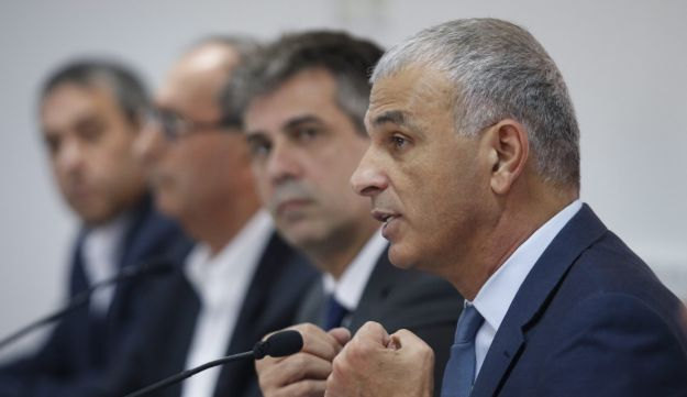 Finance Minister Moshe Kahlon speaking at the Standards Institution of Israel, Tel Aviv. March 6, 2018.