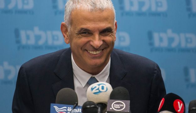Minister of Finance Moshe Kahlon at the Knesset on March 5, 2018.