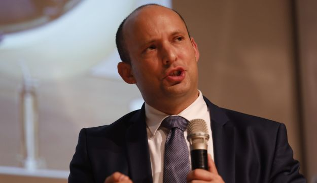 Education Minister Naftali Bennett speaking at a Knesset committee in February, 2018.