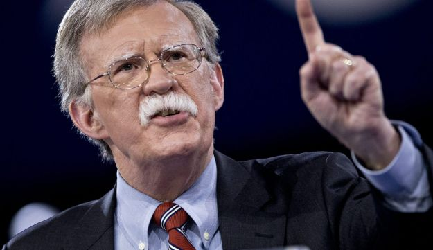 John Bolton speaks during the American Conservative Unions Conservative Political Action Conference (CPAC) meeting in National Harbor on March 3, 2016.