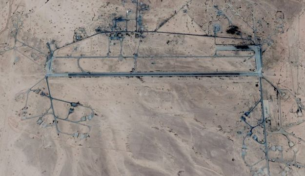 Syria's T-4 air base near Homs.