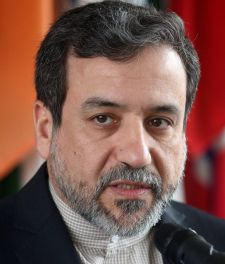 FILE PHOTO: Iran's then chief nuclear negotiator Abbas Araghchi addresses the media at the IAEA headquarters in Vienna, Austria February 24, 2015.  REUTERS/Heinz-Peter Bader/File Photo