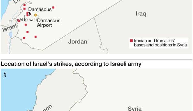Israeli strikes kill 42 in Syria this week