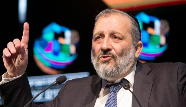 """Interior Minister Arye Dery, February 2018. """"It is inconceivable for a boycott activist to get an Israeli visa so that he can do whatever he can to harm the country."""""""