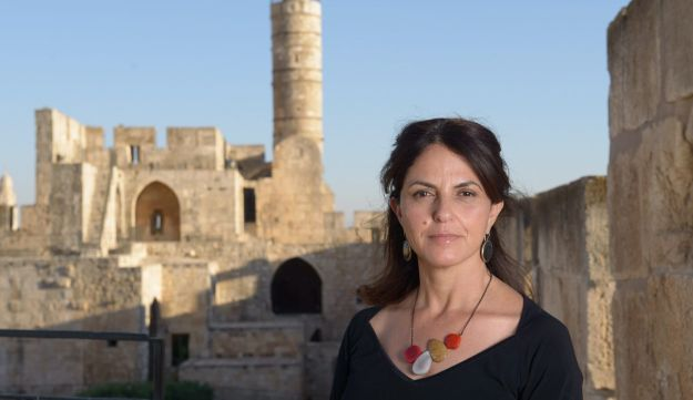 The Tower of David museum director and curator Eilat Lieber.