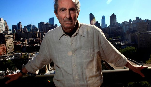 Author Philip Roth poses in New York, September 15, 2010.