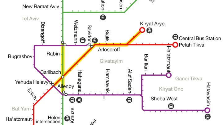 Train wreck: How Tel Aviv\'s new transport system is going off the ...