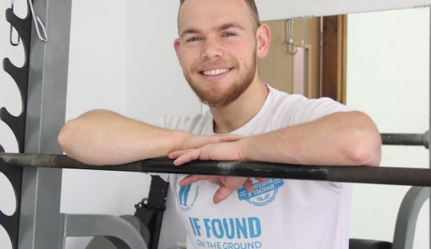 Sean Haber, a released Israeli soldier and personal fitness trainer.