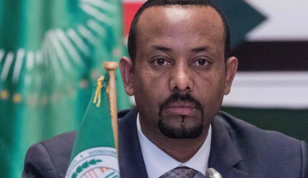 Ethiopia's Prime Minister Abiy Ahmed attends the 32nd Extraordinary Summit of Intergovernmental Authority on Development (IGAD) in Addis Ababa on June 21, 2018.