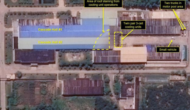 Infrastructure Improvements at North Korea's Yongbyon Nuclear Research Facility