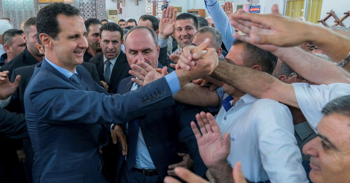 Syria's Assad has become Israel's ally