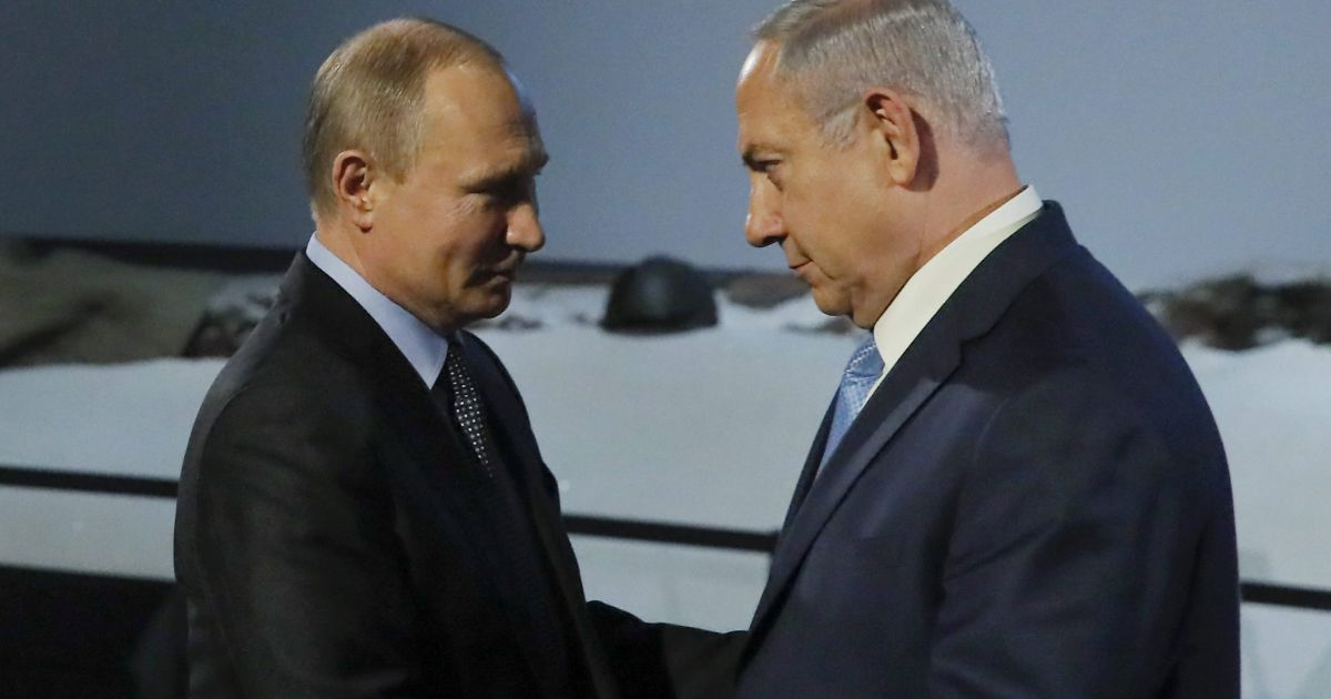 Netanyahu may offer Putin: Remove Iran from Syria for lifting of U.S. sanction on Russia