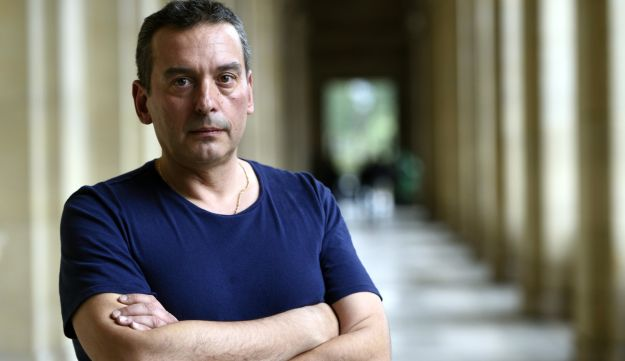 Christos Tsiolkas, an Australian writer of Greek origin who said he wasn't willing to be published in Israel unless an edition was published in Arabic for Palestinians