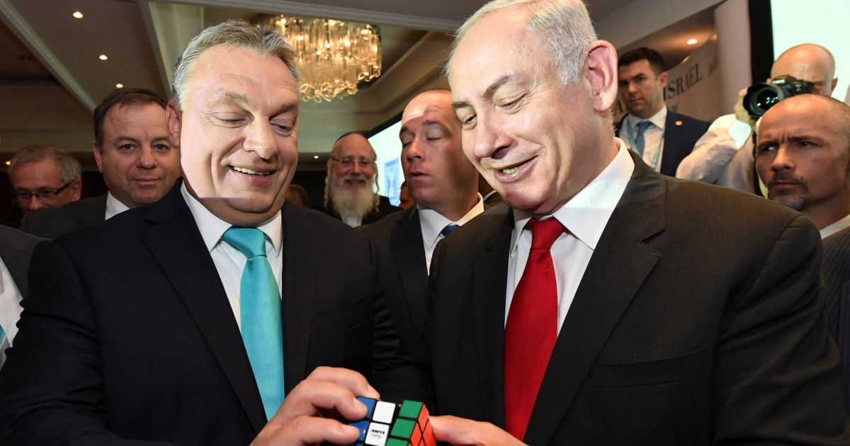 Netanyahu and Orban: An illiberal bromance spanning from D.C. to Jerusalem