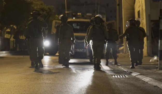 Israeli army operatives in the West Bank, Monday, July 23, 2018