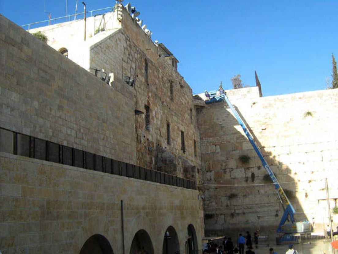 Western Wall may shed stones but will stand for thousands of