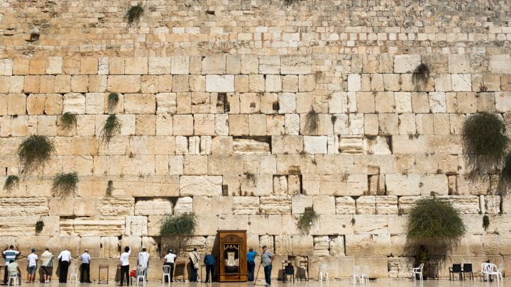 western wall may shed stones but will stand for thousands of years